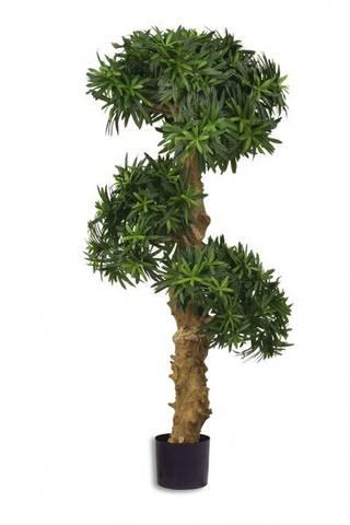 Bilde av Kunstig Podocarpus Bonsai 110 cm