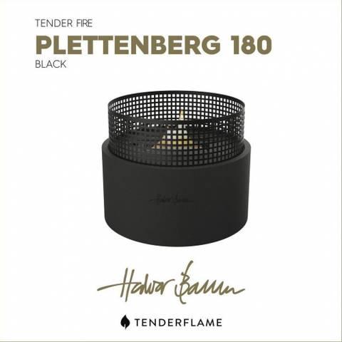 Bilde av Tenderflame Plettenberg 180 Black