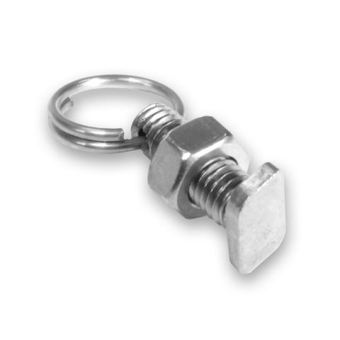 Bilde av Drivhus t-bolt med mutter og ring