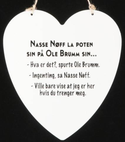 Bilde av Metallskilt Ole Brum-Nasse 16x17,5