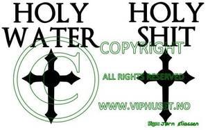 Bilde av Holy water Til å feste på