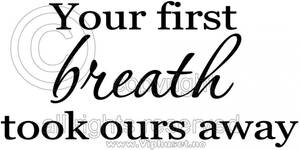 Bilde av Your first breath