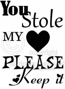 Bilde av You stole my heart