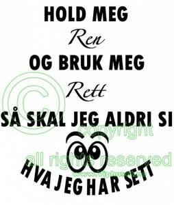 Bilde av HOLD MEG REN - Med øyer