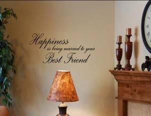 Bilde av Happiness is being merried