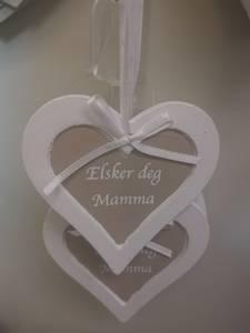 Bilde av Hengehjerte Elsker deg Mamma