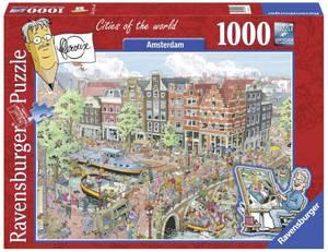 Bilde av Ravensburger Amsterdam 1000