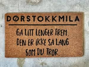 Bilde av Dørmatte dørstokkmila...