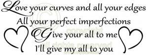 Bilde av Love your curves and all your