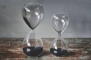 Bilde av Time glass sett av 2 stk 16