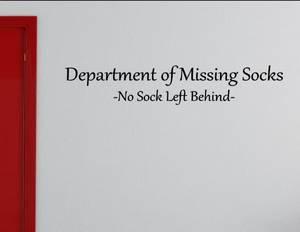 Bilde av Department of missing socks