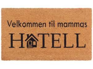 Bilde av Dørmatte Mammas Hotell
