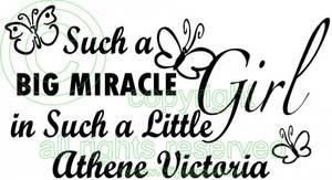 Bilde av Such a big miracle med navn