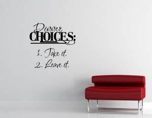 Bilde av Dinner choices