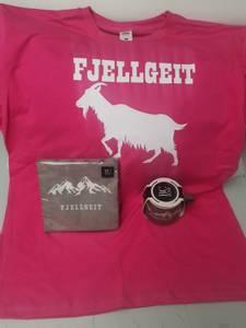 Bilde av Fjellgeit pakke ! Tshirt +