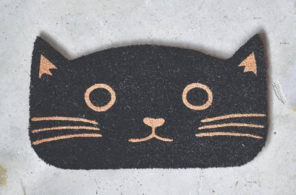 Dørmatte katt 40x70cm