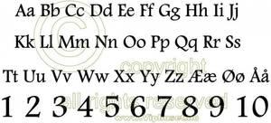 Bilde av Alfabet