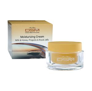 Bilde av Ansiktskrem med kokosmelk og honning - for ømfintlig hud (moisturizing cream, milk & honey, propolis & royal jelly, DSM122