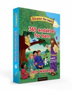 Bilde av 365 andakter for barn 365 ANDAKTER FOR BARN av Jarle Waldemar