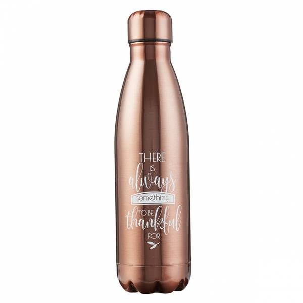 Vannflaske - Kobber - Takknemlig FLS011