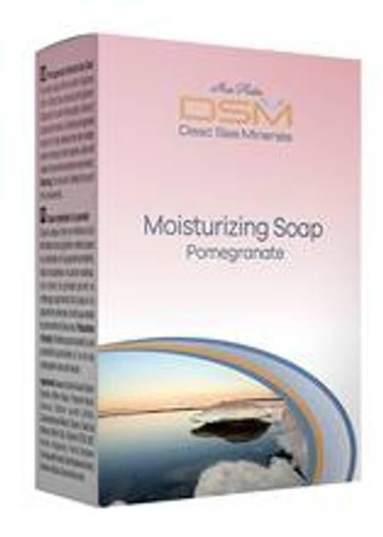 Såpestykke med granateple (moisturizing soap w/ pomegranate) DSM201