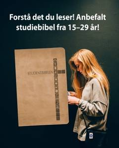 Bilde av STUDENTBIBELEN – MØRK LATTE Pris 499,00