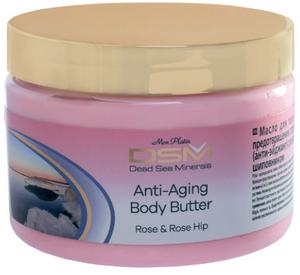 Bilde av Antialdring Body Butter DSM94 Rose Hip and Rose Flowers • 300 ml