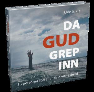 Bilde av 3 stk. DA GUD GREP INN av Ove Eikje