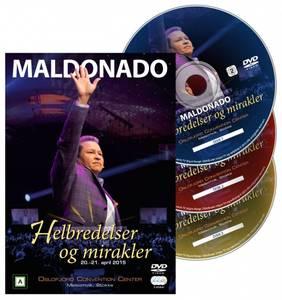 Bilde av Helbredelser og mirakler (3 DVD) av Maldonado; Kode: 1013