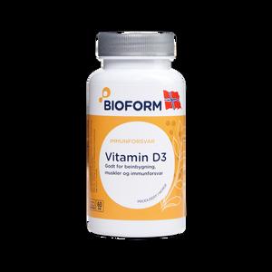 Bilde av Vitamin D3  60 kapsler