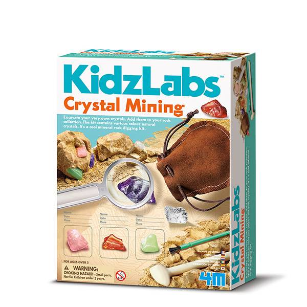 Bilde av Crystal mining