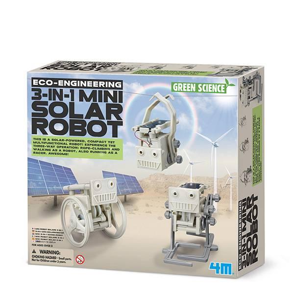 Bilde av 3-in-1 mini solar robot