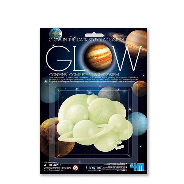 Bilde av Glow 3D, solar system