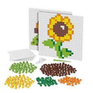 Bilde av Biobuddi piksler skilpadde og blomst