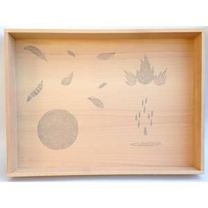 Bilde av Grapat kasse i tre til fri lek