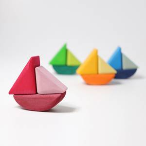 Bilde av Grimm's fire byggebåter