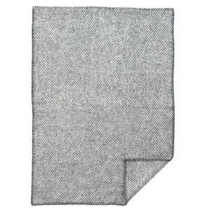 Bilde av Klippan ullpledd baby Domino grå 65x90