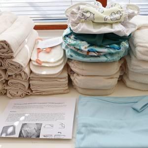 Bilde av Startpakke tøybleier nyfødt komplett