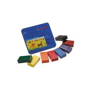 Bilde av Stockmar fargeblokker 8 stk. standardfarger