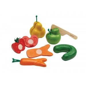 Bilde av Plan Toys skjæresett rare grønnsaker