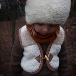 Bilde av Alwero ullvest barn beige