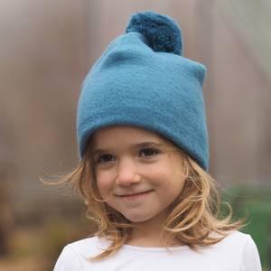 Bilde av Reiff topplue ull med dusk blå