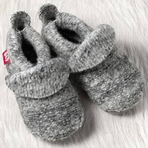 Bilde av Pololo tøfler ull grå