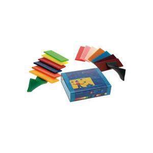 Bilde av Stockmar modellerings-bivoks 15 farger