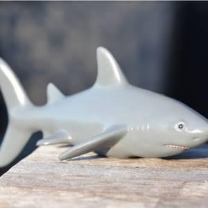 Bilde av Green Rubber badeleke hai