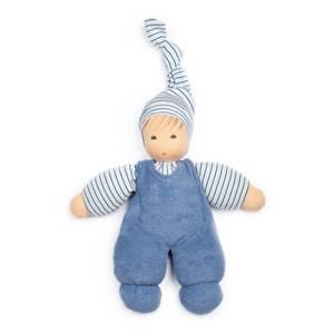 Bilde av Nanchen myk babydukke blå
