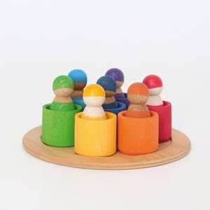 Bilde av Grimm's 7 regnbuevenner i kopper