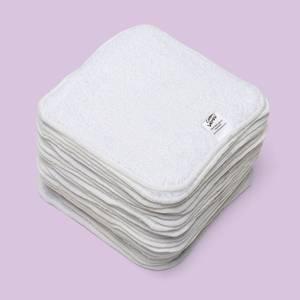 Bilde av Cheeky Wipes 25 kluter økobomull hvite