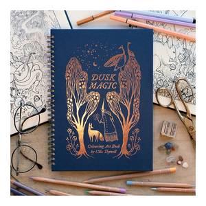 Bilde av Ulla Thynell fargebok Dusk Magic