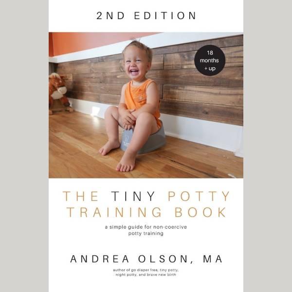 The tiny potty training book av Andrea Olson